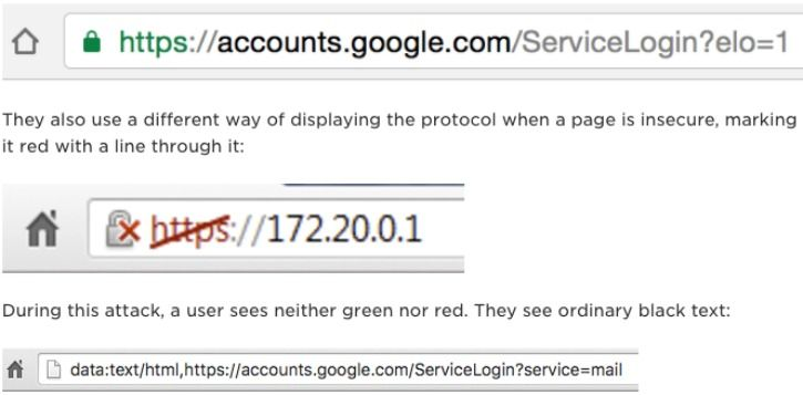 how to differentiate between a legit or phishing url in any browser window