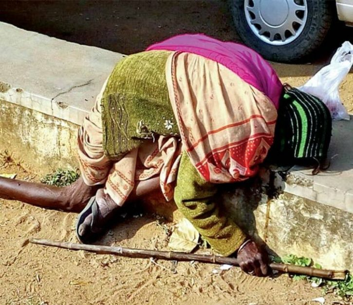 Old woman dies of cold in Jharkhand