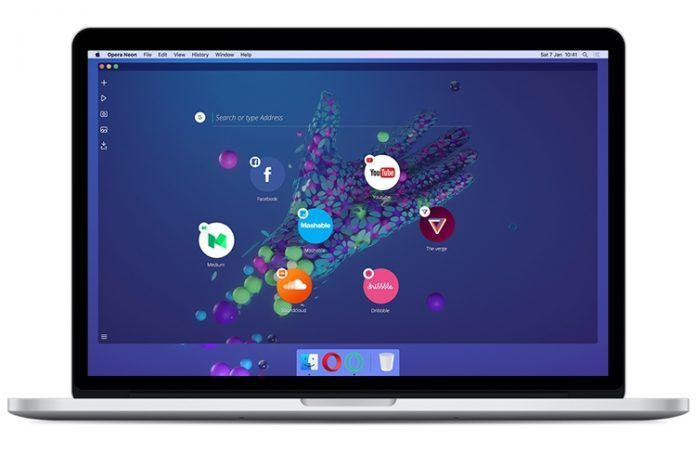Opera Neon Web Browser