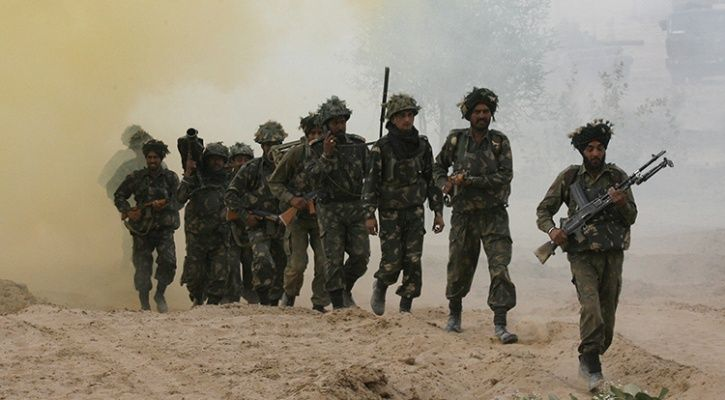 Indian infantry
