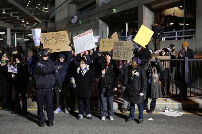 JFK airport to protest