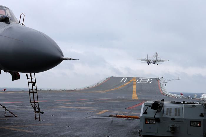 Taiwan scrambles jets