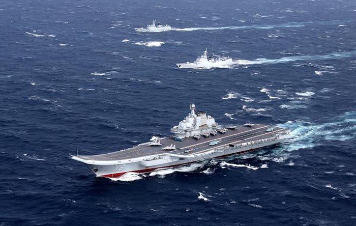 Taiwan scrambles jets, navy as China aircraft carrier enters Taiwan Strait