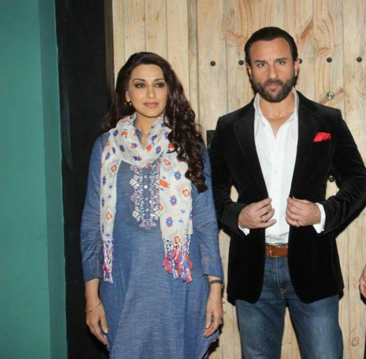 Saif Ali Khan and Sonali Bendre