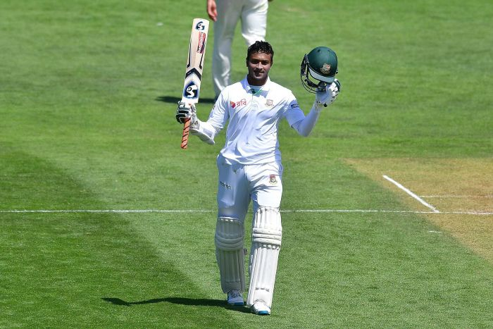 Shakib Al Hasan Shatters Records With 217 - The Highest Test Score ...