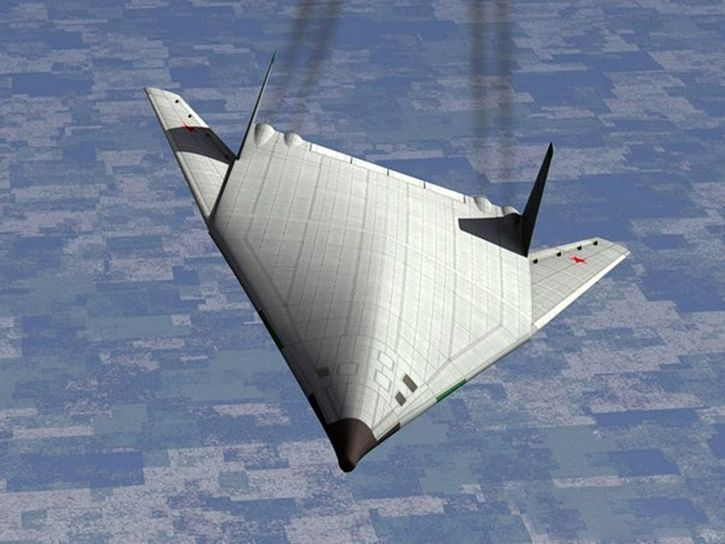 Space bomber redering