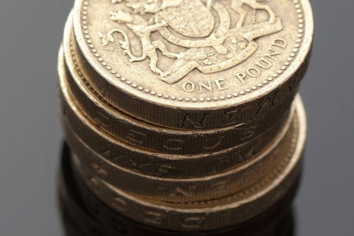 round pound coin