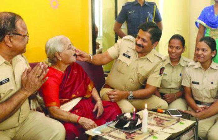 Police Celebrate Birthday