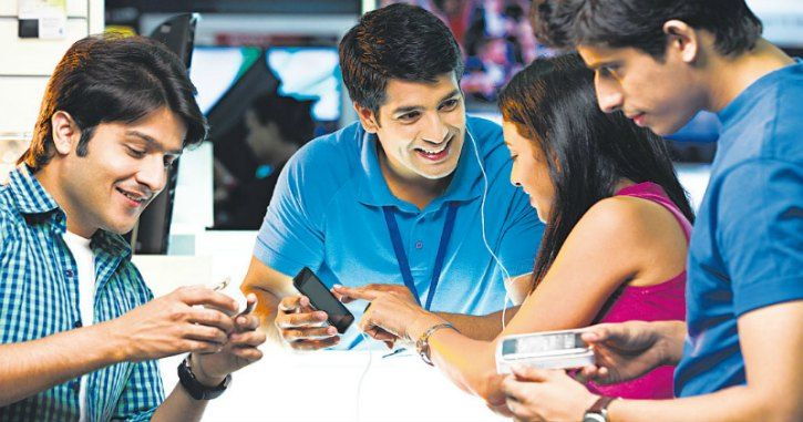 Young Smartphone Users In India