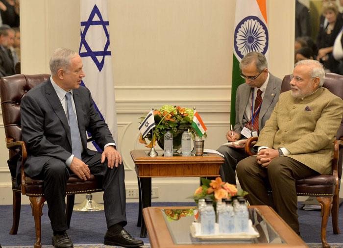 PM Benjamin Netanyahu and PM Modi