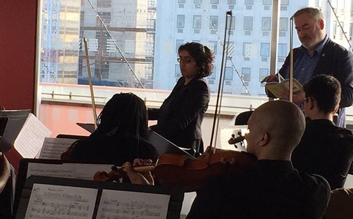 Maria Badstue, conductor