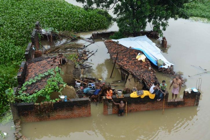 Floods And Landslides In Northeast AFP