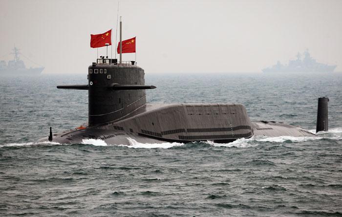 India china Border submarine