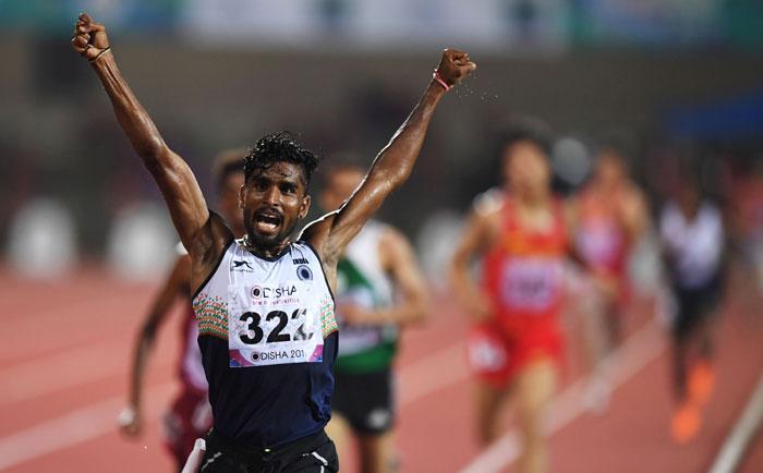 Gold Medallist G Lakshmanan