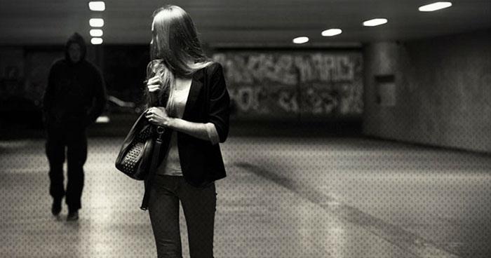 Woman Drags Molester