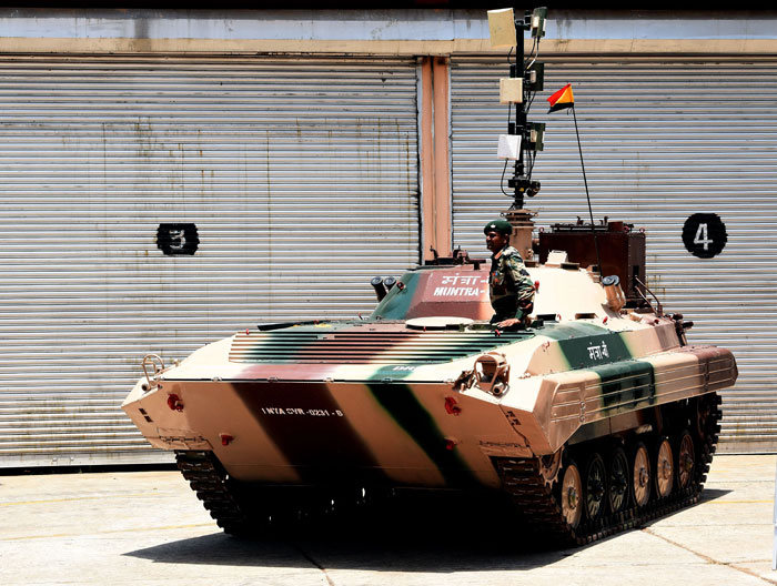 DRDO Muntra tank