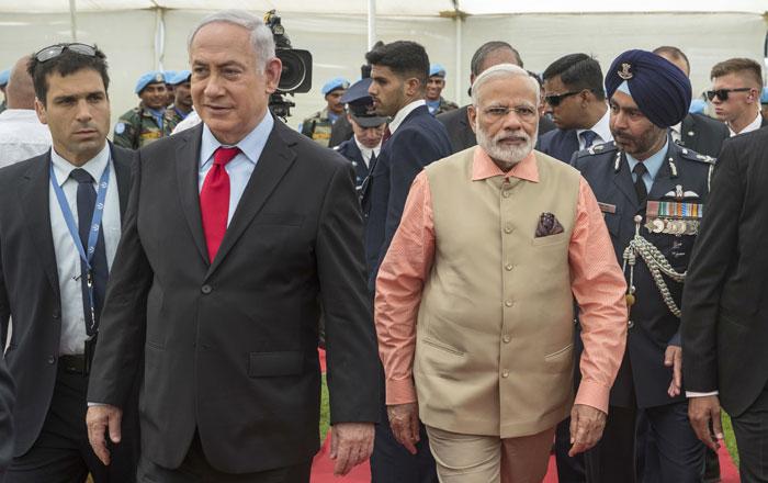 PM Narendra Modi Israel