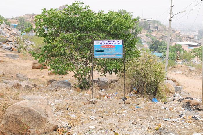 Telangana land scam