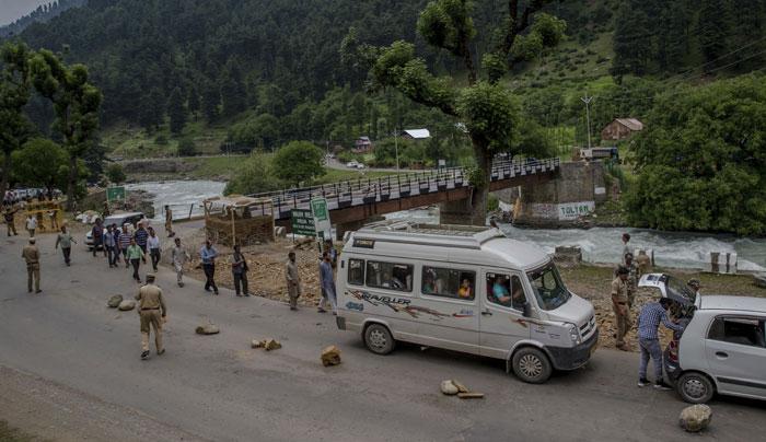 Terrorists Killed in South Kashmir
