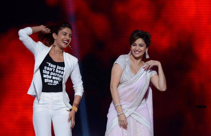 Priyanka On Collaborating With Madhuri
