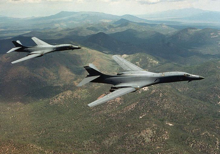 US Bombers B-1B Lancer