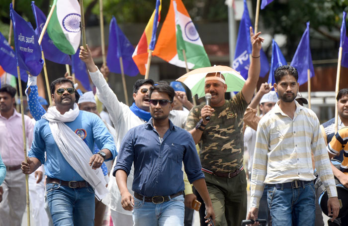 Bhim Army protest