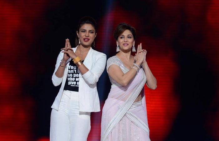 Priyanka Chopra and Madhuri Dixit