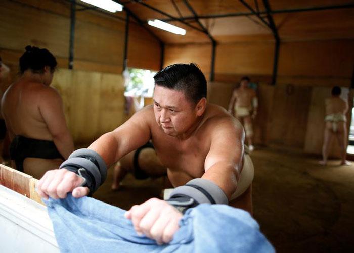 Mongolian Wrestler Sumo
