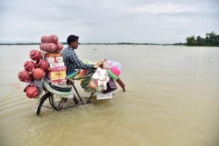 Floods And Landslides In Northeast