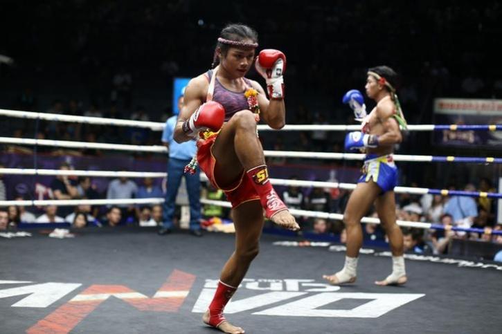 Transgender Boxer