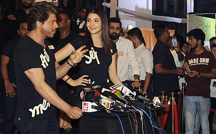 Shah Rukh Khan and Anushka