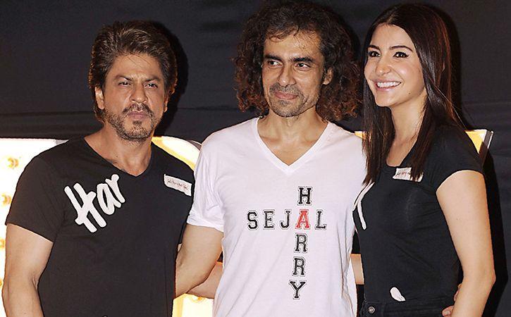 Shah Rukh Khan, Anushka and Imitiaz