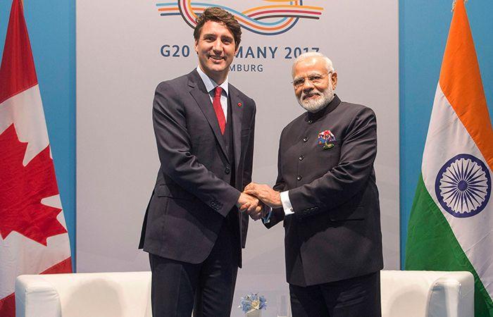Trudeau and Modi