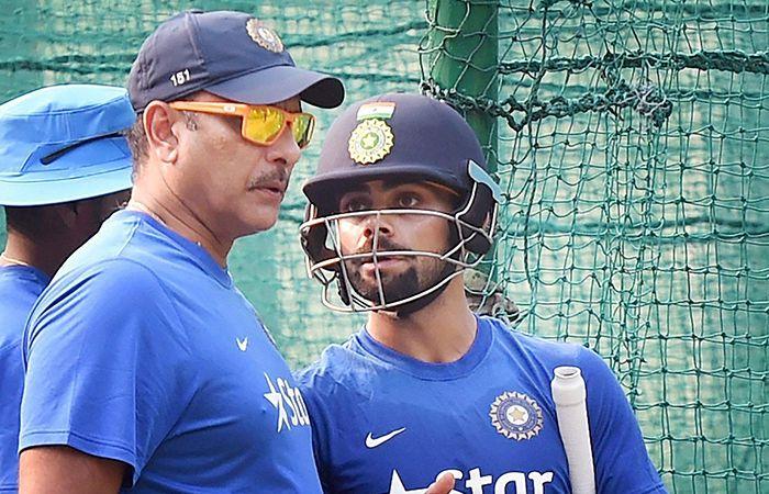 Kohli and Shastri