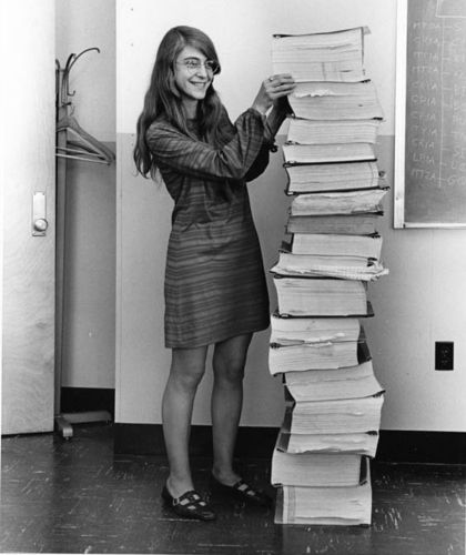 Margaret Hamilton and the code she wrote for the Apollo 11 guidance system - MIT
