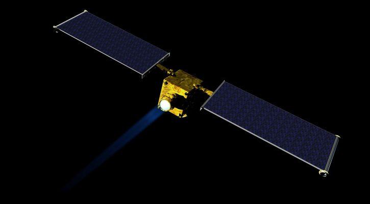 Concept image of the DART spacecraft - NASA/JHUAPL