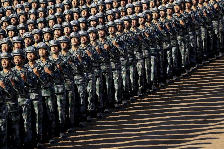 China Puts Its Military Might On Display