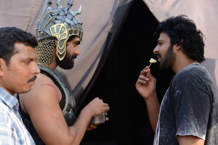 Rana and Prabhas