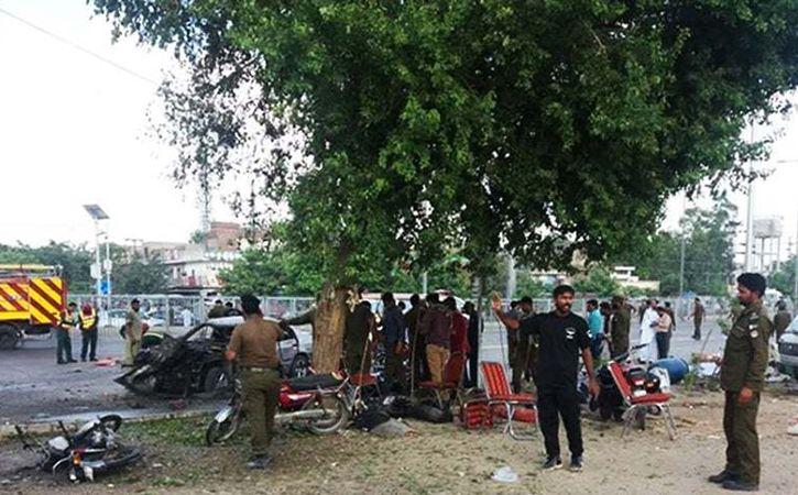 Blast in Lahore