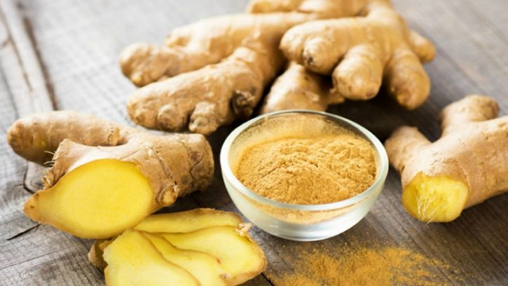 Ginger is loaded with anti-inflammatory gingerols and shaogals in ginger root that helps to relieve a sore throat quickly and also kill rhinoviruses, which cause respiratory infections like cold.