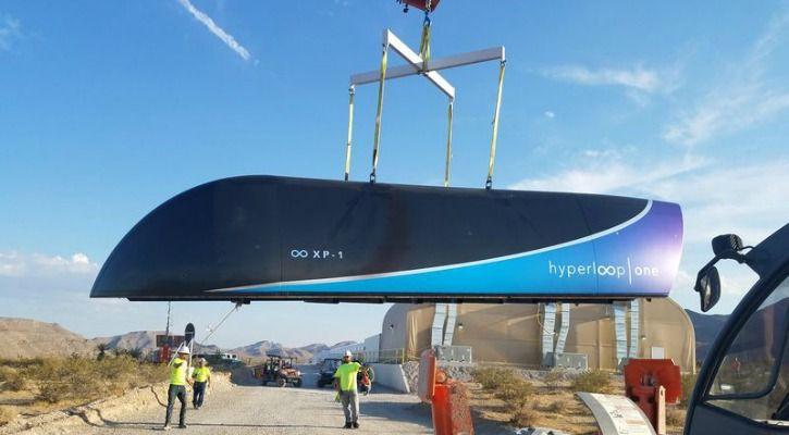 Hyperloop One Vehicle