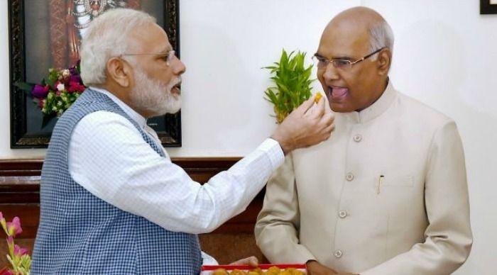 Modi and Kovind