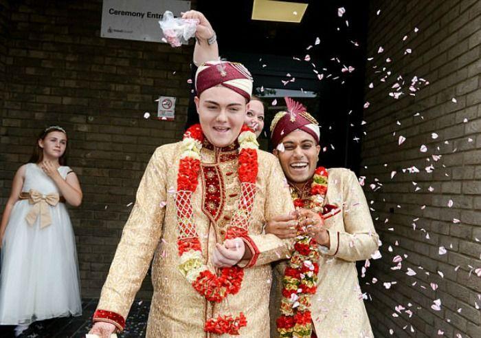 same-sex Muslim wedding