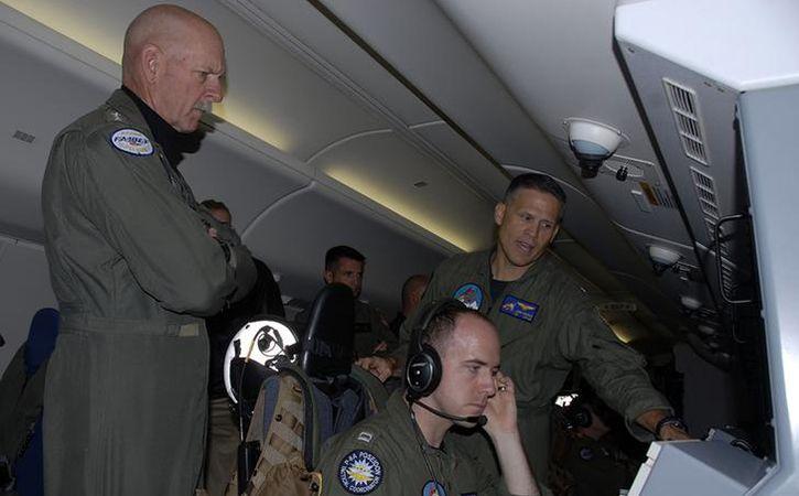 Adm Scott Swift, commander of the US Pacific Fleet