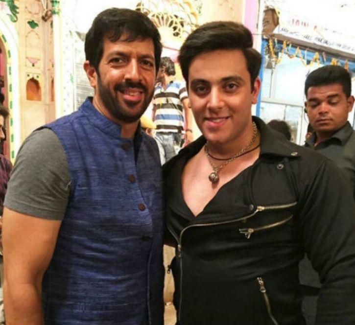 Salman Khan and Nazeem Khan