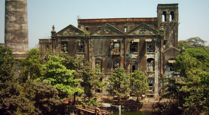 What Elphinstone Mills Once Looked Like. Image Credit : Kruti Garg