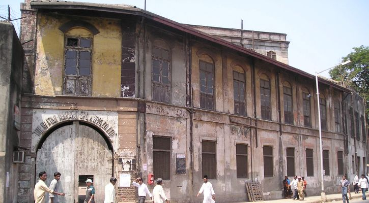 Picture of Khatau Mills, which no longer stands today. Image Credit: Kruti Garg
