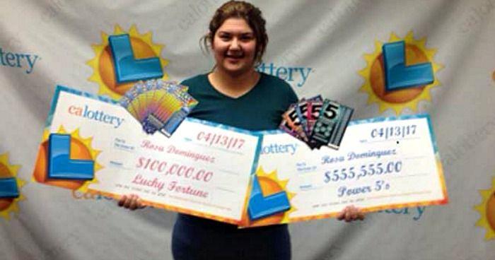 teen wins lottery