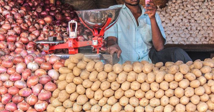 Potato Seller son