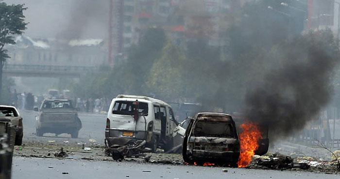 Afghanistan car Blast